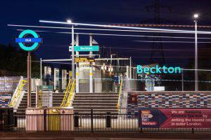 Beckton Station