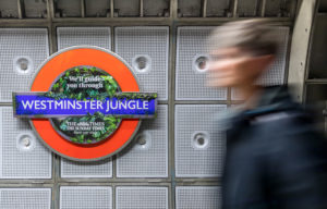 Westminster Jungle Underground Roundel