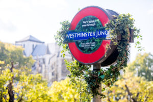 Westminster Jungle station roundel