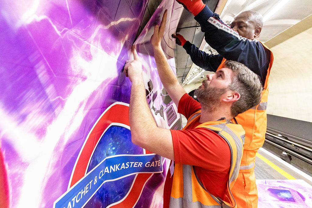 Lancaster Gate Installation Crew PS5