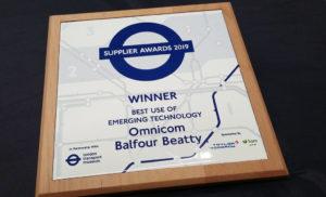 Winner's Award for Best use of Emerging Technology
