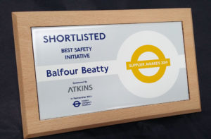 Shortlisted Award for Best Safety Initiative