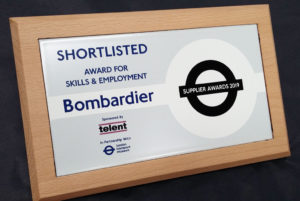 Shortlisted Award for Skills & Employment