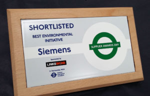 Shortlisted Award for Best Environmental Initiative