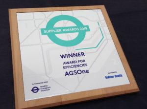 Winner's Award for Efficiencies