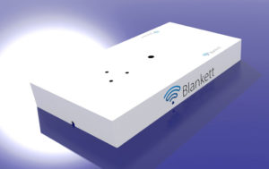 Blankett portable wifi tray visualisation