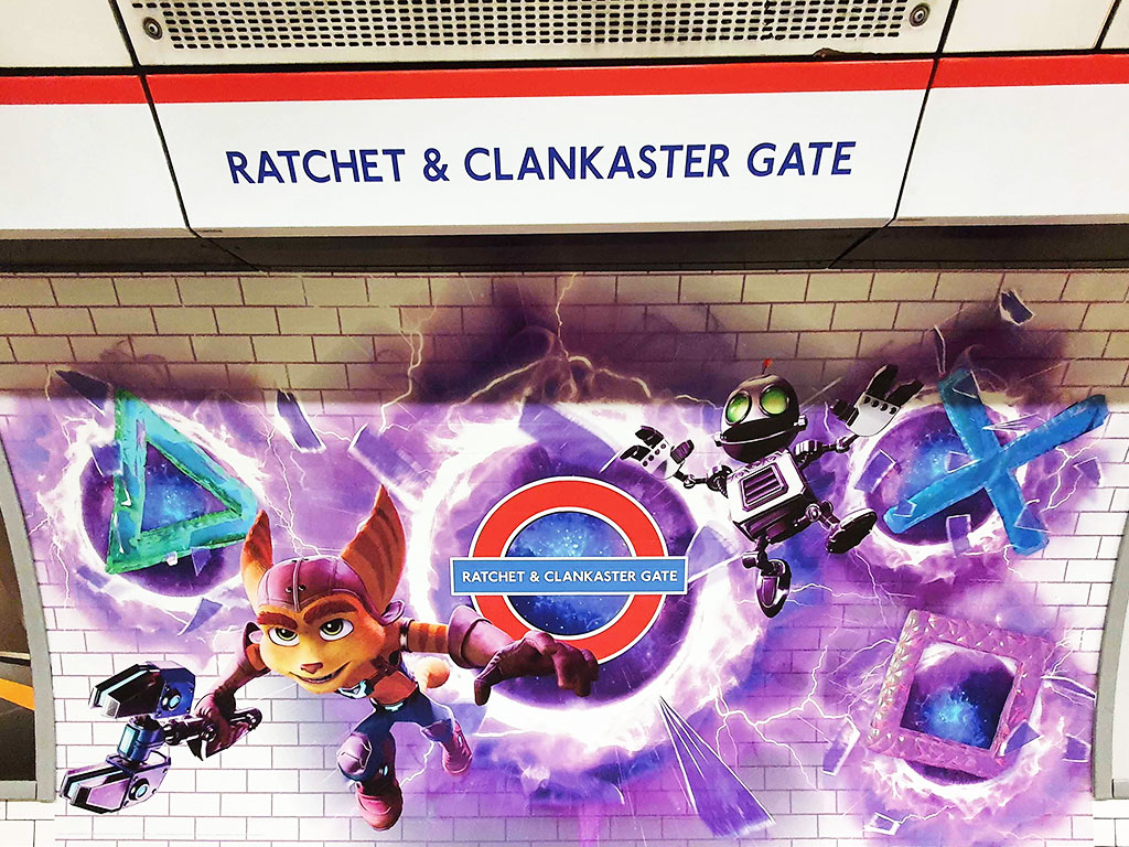 Ratchet & Clankaster Gate PS5