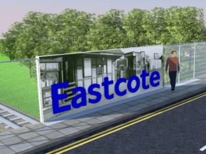 Eastcote Bridge visualisation
