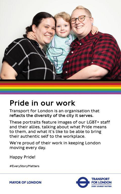 Pride in our work poster