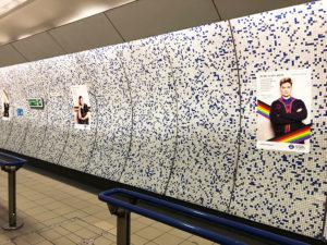 Green Park station posters