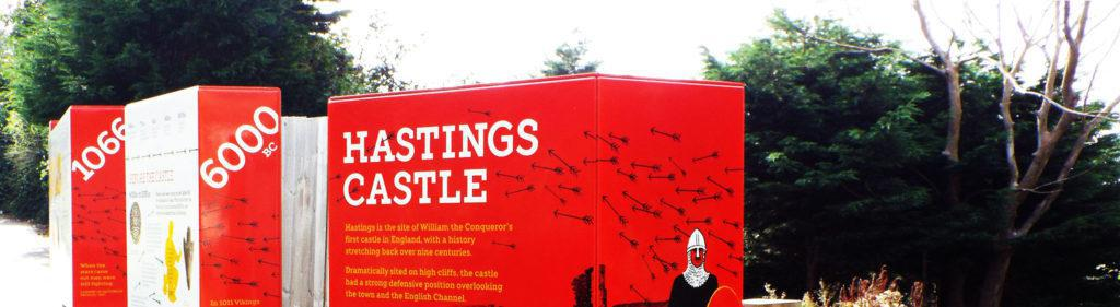 Hastings Castle Infographics hero banner