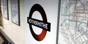 Rotherhithe Night Overground Roundel