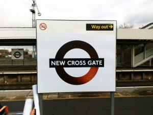 New Cross Gate roundel