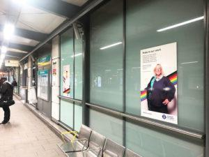 Limehouse station Pride in our work posters