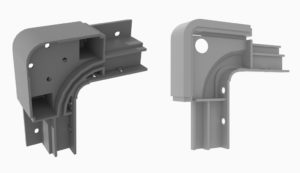 Corner casing components