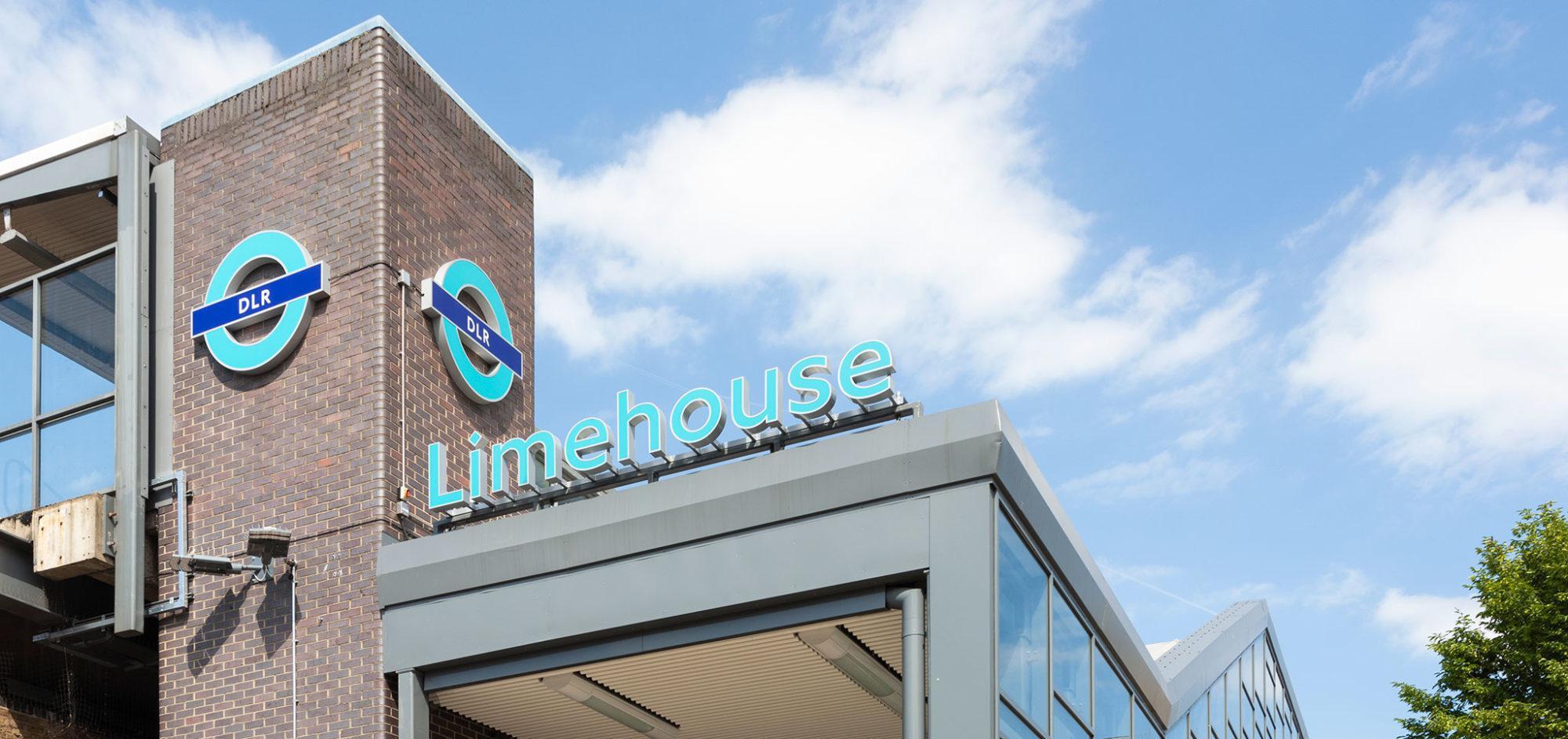 Limehouse DLR Station Hero Banner