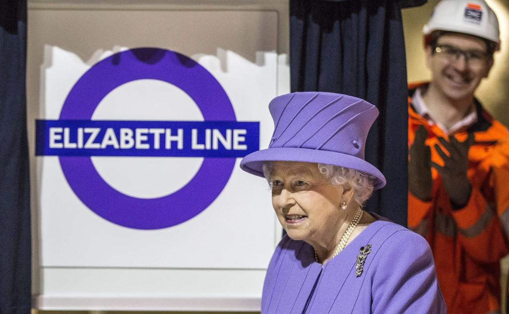 Elizabeth Line launch, attended by Her Majesty the Queen