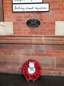 Fabian Peake War Memorial artwork