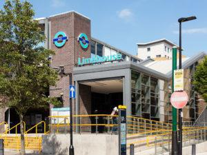 Limehouse DLR Station Architectural Signage