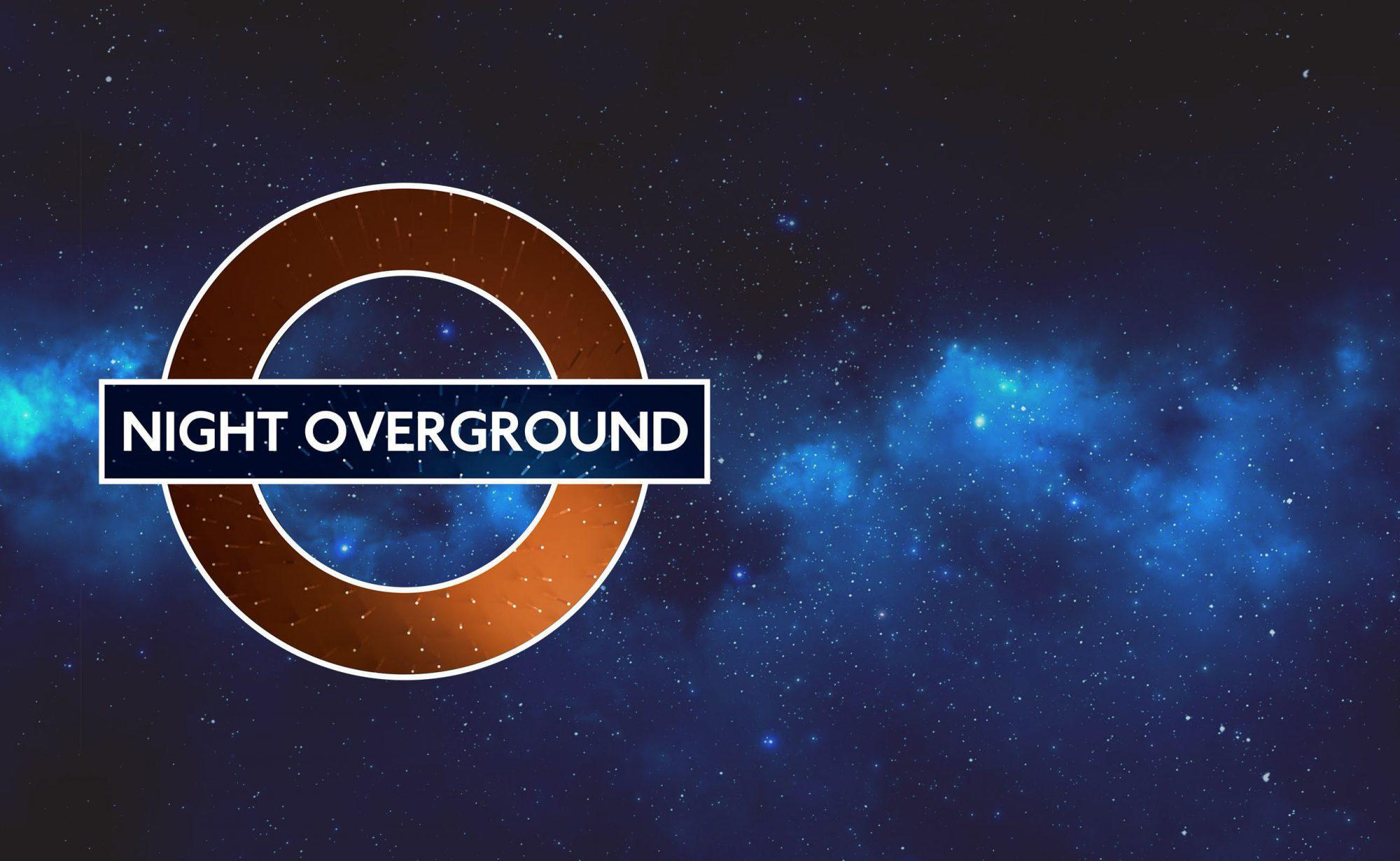 Night Overground roundels